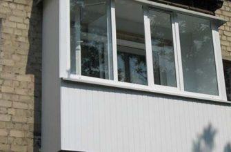 стекляный балкон