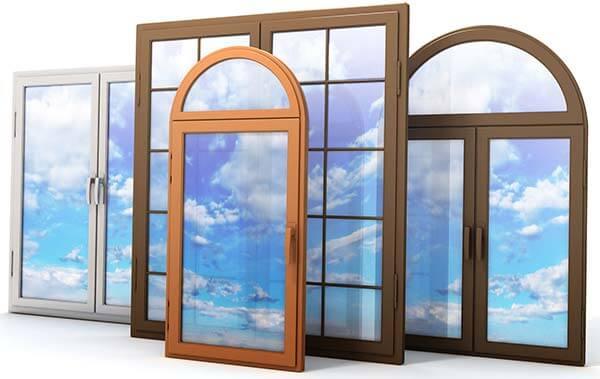 4 пластиковых окна