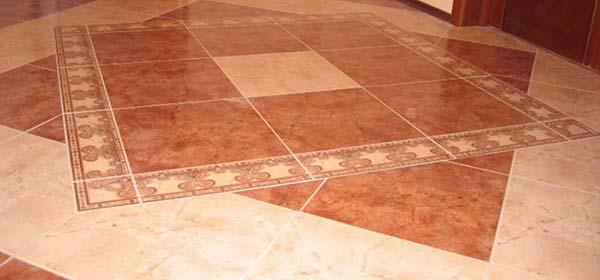 плитка выложена в форме квадрата