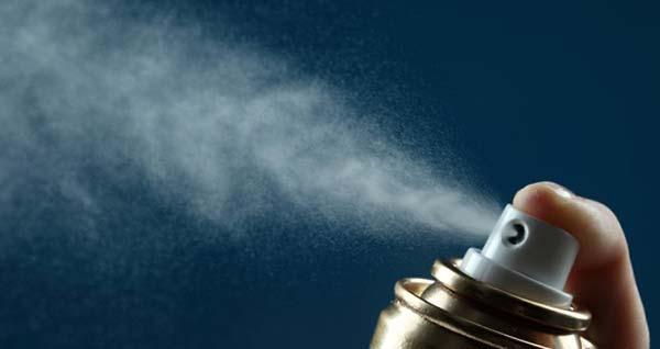 распыление запаха